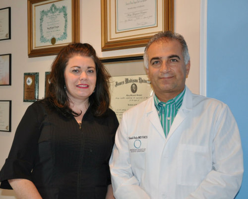photo of Dr. Asfa and Marnie